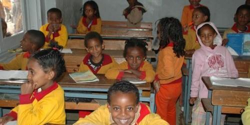 die Sewra-Schule in Asmara