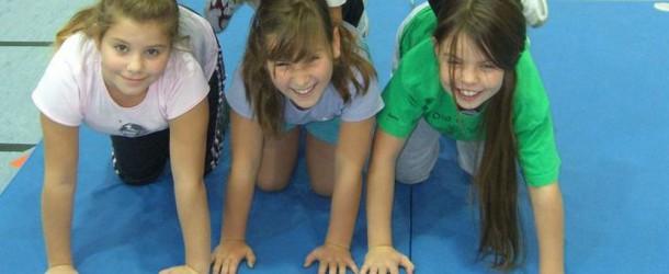 Spaß im Sportunterricht der 3b