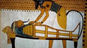 Mumien im Ägypten-Atelier