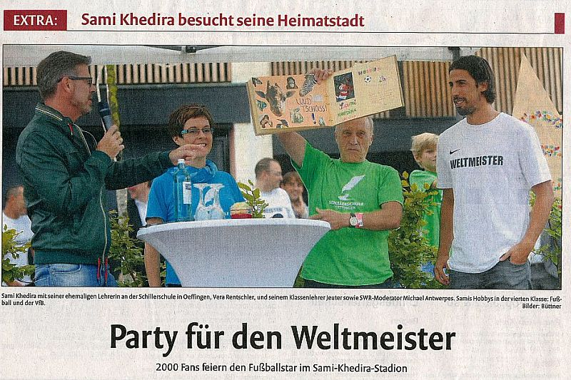 Weltmeisterparty