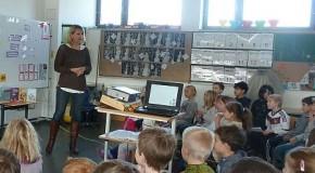Barbara Rose zu Gast in der Schillerschule