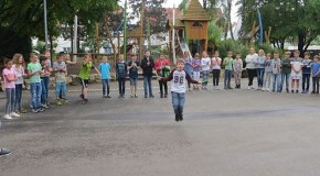 Seilspringwettbewerb an der Schillerschule
