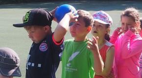 Sonniger Spiel- und Sporttag