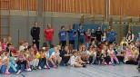 Handballaktionstag mit den Zweitklässlern